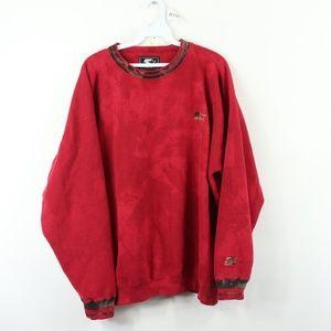 90s Starter Mens XL Spell Out Acid Wash Sweatshirt